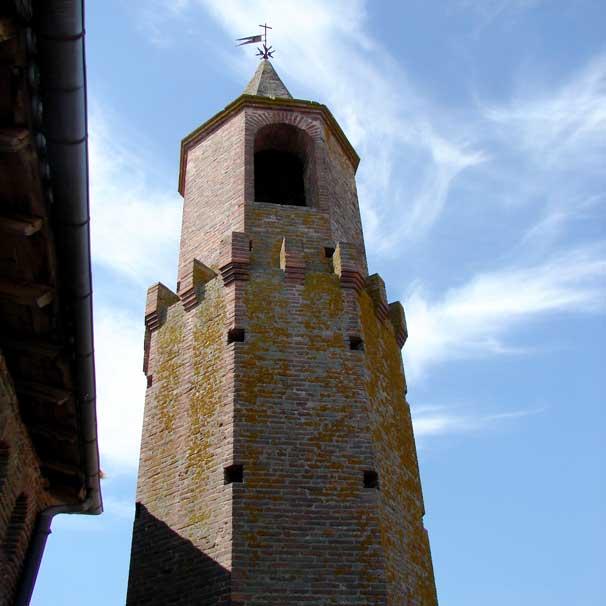 Vue de Notre Dame du Bourg, Rabastens