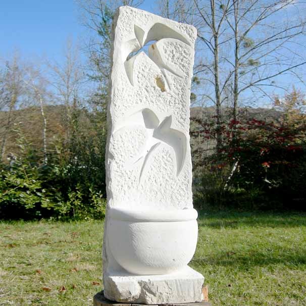 Galerie pour le jardin sculpture sur pierre for Sculpture moderne pour jardin