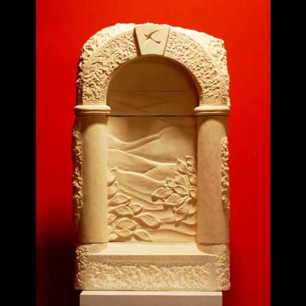 fenêtre Grès d'Espagne art sculpture sculptures original originaux unique uniques pierre calcaire cadeau cadeaux noce noces naissance naissances personnalisé aménagement aménagements déco décoration art artisanat artisanal midi-pyrenées tarn tarnais local toulouse albi rabastens, midi-pyrenées